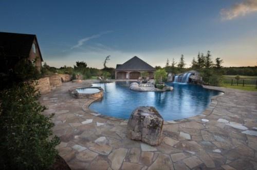 Island oasis tropical pool oklahoma city caviness for Pool design okc