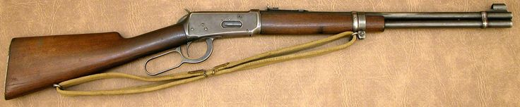 """Winchester 1894 Pacific Coast Militia Rangers PCMR Carbine  .30 WCF s/n 1331722 mfg 1942  - 20"""" Round barrel; straight-grain walnut stocks; steel shotgun butt; Canadian martial-marked receiver forend & stock; PCMR sling & swivels."""