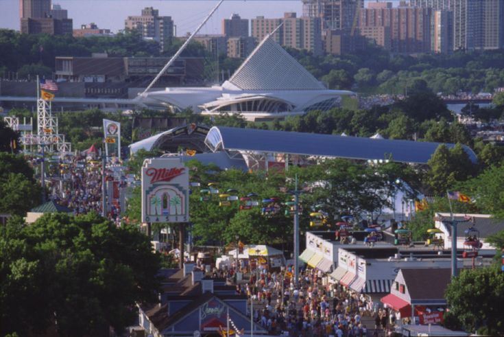 Summerfest. Lots and lots of shows attended here.