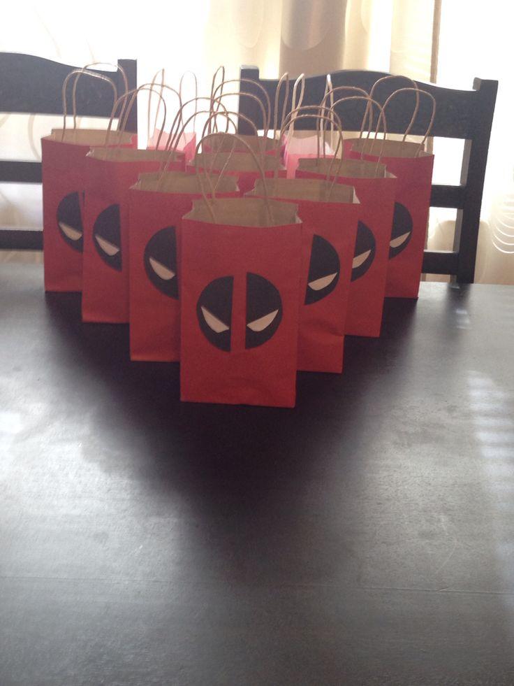 Deadpool gift bags