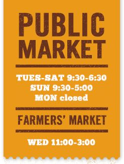 Get a taste of local food at the Victoria Public Market's new location at the Hudson buildling!