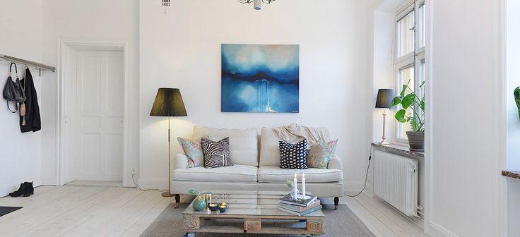 Se puede tener muebles azules y acertar ideas decoraci n pinterest decoracion pisos - Diseno de interiores pisos pequenos ...