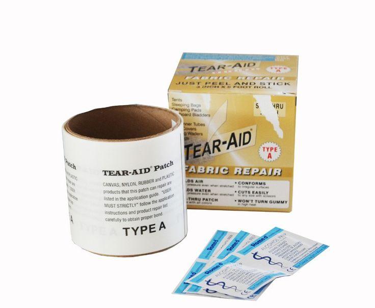 Επισκευαστική Ταινία Tear Aid Τύπου A Ρολό | www.lightgear.gr