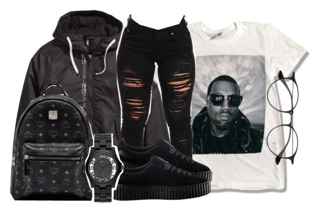 """Untitled #150"" by trillqueen34 ❤ liked on Polyvore featuring adidas Originals, Ray-Ban, Puma, MCM and Marc by Marc Jacobs"