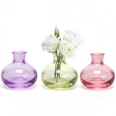 Pink Sapphire Jewel Bud Vase