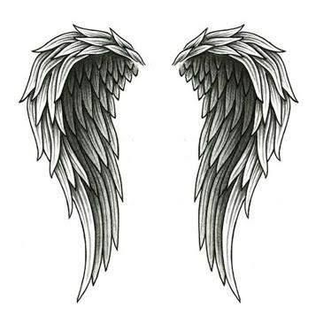 Image result for angel wing tattoos