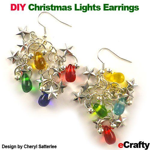 173 Best DIY Holiday Earrings Images On Pinterest