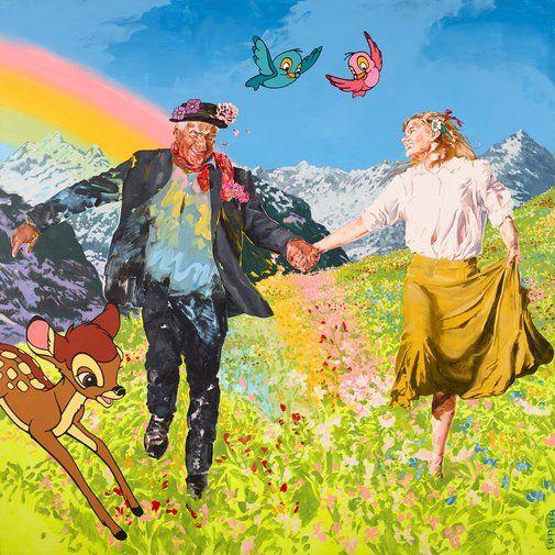 Sophia Hewson: Untitled (Richard Bell) :: Archibald Prize 2017 :: Art Gallery NSW