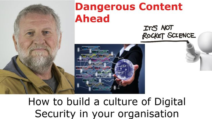 How to build a culture of Digital Security in your organisation  ||  Roger Smith is the CEO of R & I ICT Consulting Services,(http://rniconsulting.com.au) Amazon #1 selling author on Cybercrime (http://www.amazon.com.au/CyberC... https://www.youtube.com/watch?feature=youtu.be&utm_campaign=crowdfire&utm_content=crowdfire&utm_medium=social&utm_source=pinterest&v=xeVjQCFM0_M