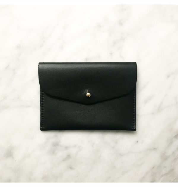 GRAY&Co. Leather Card Wallet Black
