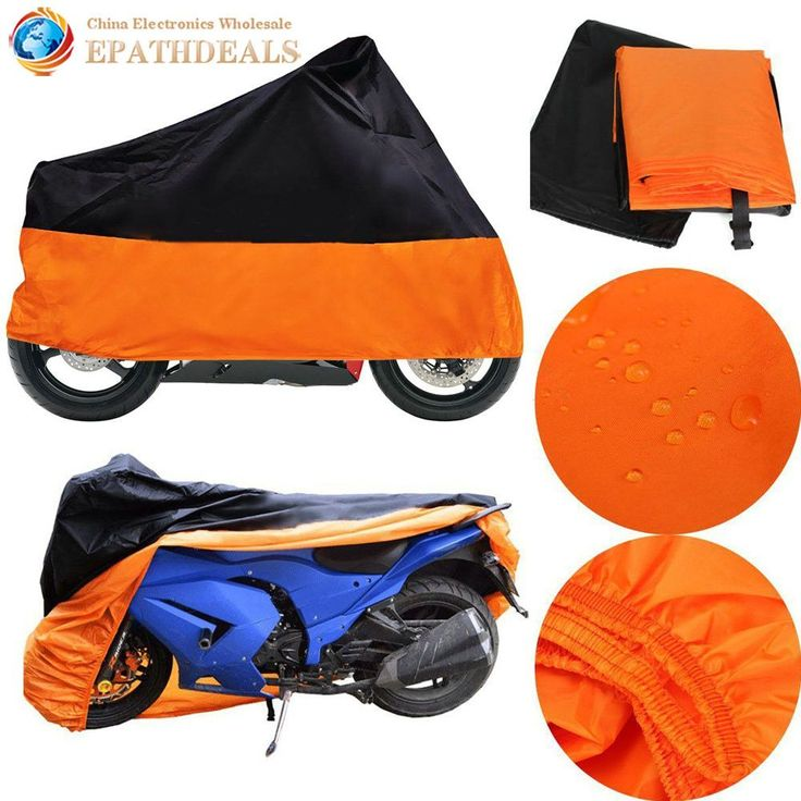 XXL Outdoor Motorcycle Cover Waterproof Motorbike Bike UV Dust Rain Protector For Harley Davidson Sportster 1200 Custom
