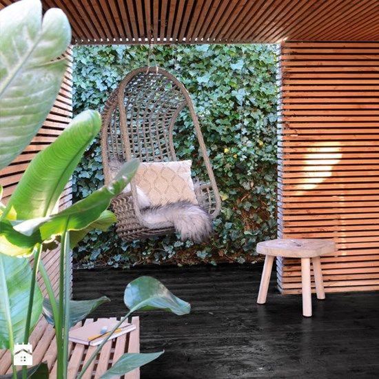 Meble ogrodowe 9design; fotel wiszący - zdjęcie od 9design