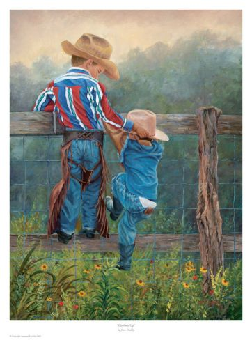 "<3 ""Cowboy Up"" by June Dudley"