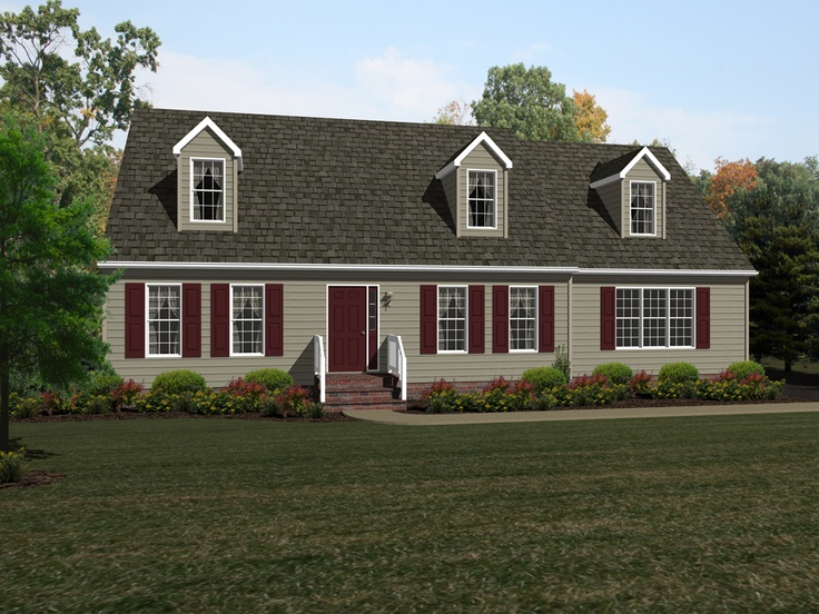 9 best beracah homes the delmarva model images on pinterest for Cape cod model homes
