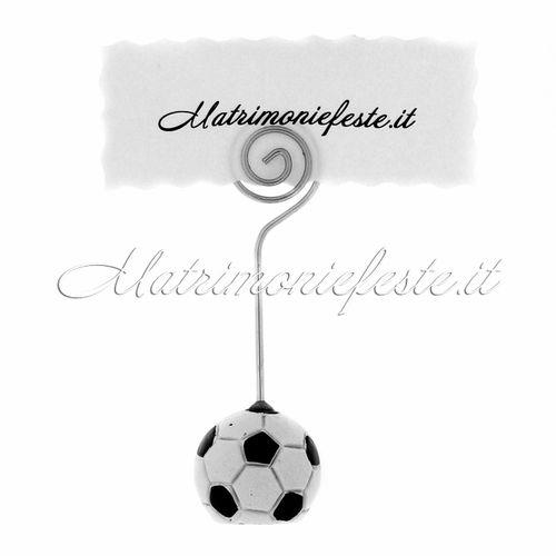 Matrimoniefeste Segnaposto/Segnatavolo Tema Calcio  Sport - Mestieri - Passioni | Articoli Addobbi e Gadget per Matrimoni ed Eventi | Matrimoniefeste.it l'ecommerce per gli eventi