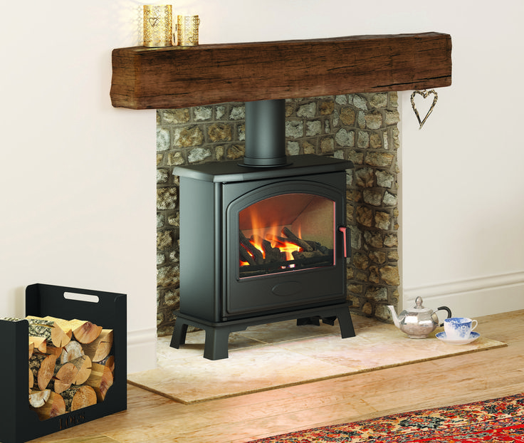 4.7KW Hereford 7 Conventional Gas Stove | Buy Conventional Flue Gas Stoves Online | UK Stoves