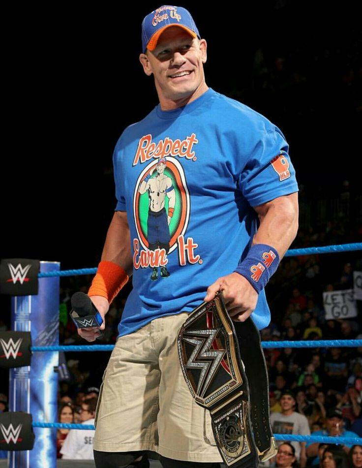 16 time Champion John Cena