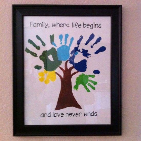 Family Handprint Tree | The WHOot