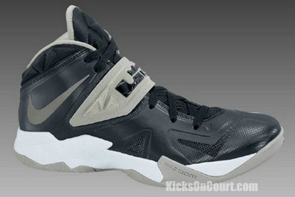 size 40 cff49 e531b Nike Zoom Soldier VII 599263 001 Black Metallic Silver Matte Silver White