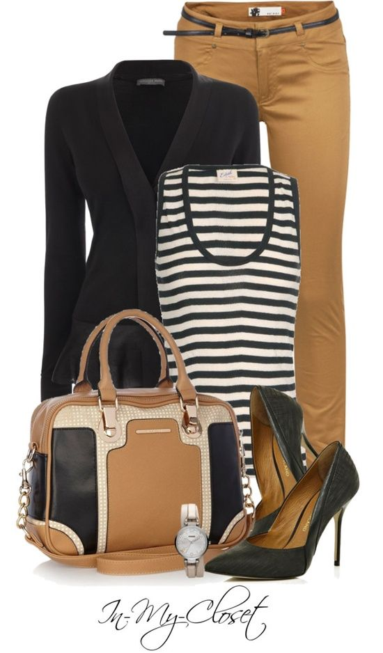 """""""Off To Work"""" by in-my-closet ? liked on #Work Outfits for Women #Perfect Work Attire #Work Outfits for Men #Work Attire