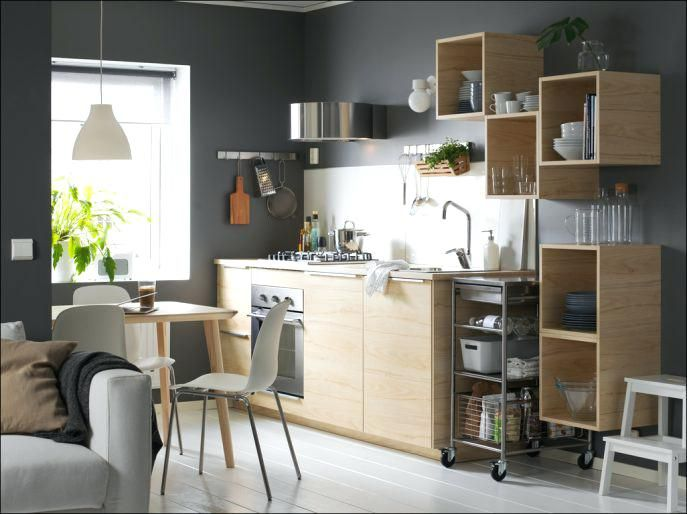 Ikea Studio Apartment Kitchen Medium Size Of