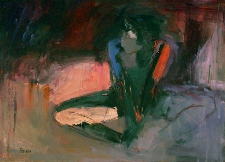 Introspección, obra elaborada por Olga Rey
