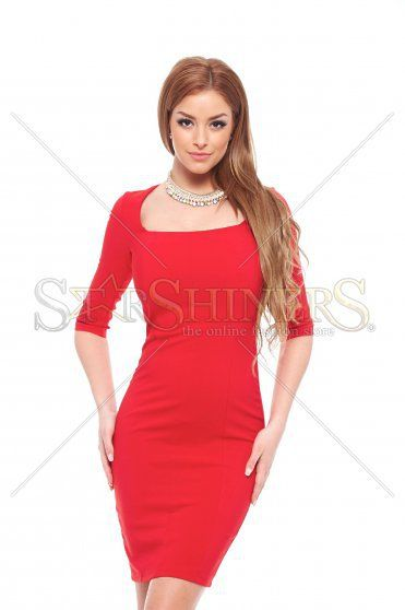 Artista Elegancy Red Dress