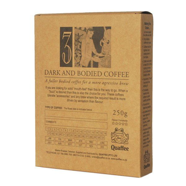 This is a classic, high quality Brazilian coffee with lots of nutty flavours…