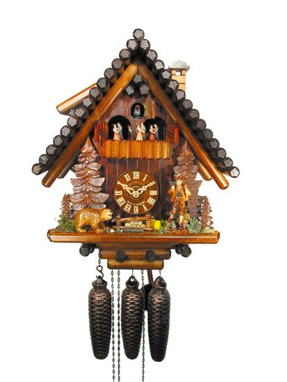 Cuckoo clock palace woodworking projects plans - Cuckoo clock plans ...