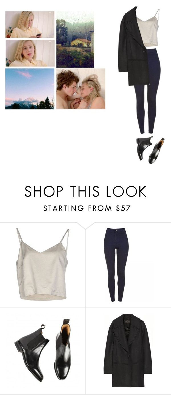 """НРК"" by asmin ❤ liked on Polyvore featuring Erika Cavallini Semi-Couture, Loake, Proenza Schouler, noora and skam"