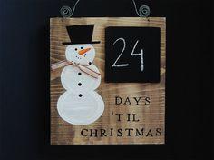 Image result for advent calendar wooden sign