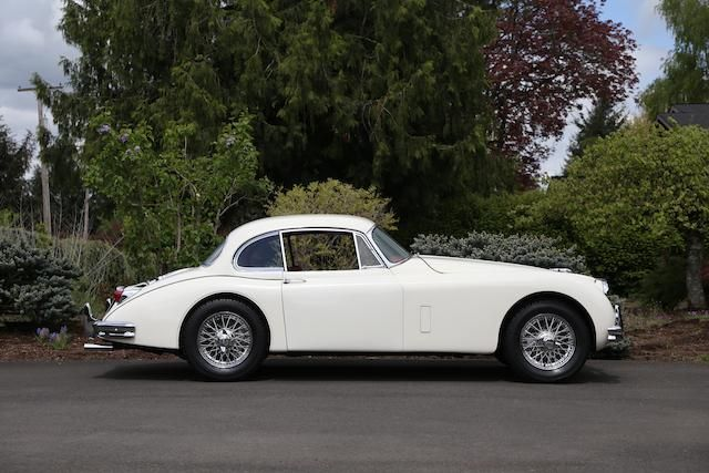 <b>1957 Jaguar XK150 3.4 FIXED HEAD COUPE</b><br />Chassis no. S834339DN<br />Engine no. V1437-8