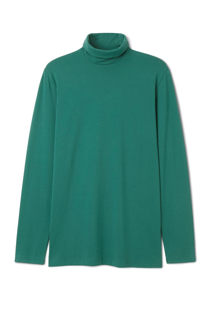 Weekday image 31 of Turtle Turtleneck in Green Bluish Dark