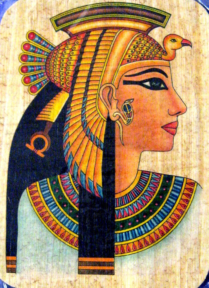 Queen cleopatra spirits of ancient egypt pinterest for Ancient egyptian mural paintings