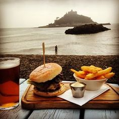 Godolphin Arms, Marazion ...♥♥... Breathtaking Places To Eat In Cornwall