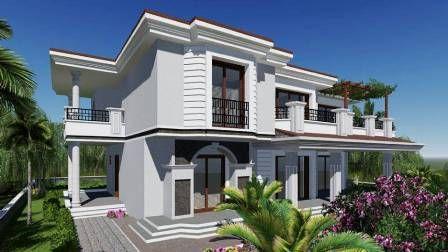 تصميم وتنفيذ فيلا خاصة، تركيا - http://alanyaistanbul.com/design-of-private-villas-turkey/