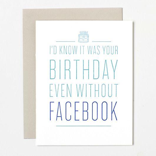 Birthday N Love Cards: 25+ Best Ideas About Facebook Birthday Cards On Pinterest