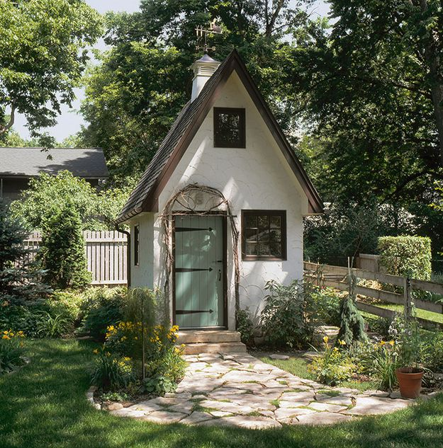 All The Garden Sheds Of Your Wildest, Quaintest Dreams - BuzzFeed Mobile