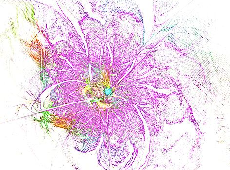Purple lily by Mary Raven #MaryRaven #flower #lily #abstraction #ArtForHome #FainArtPrints