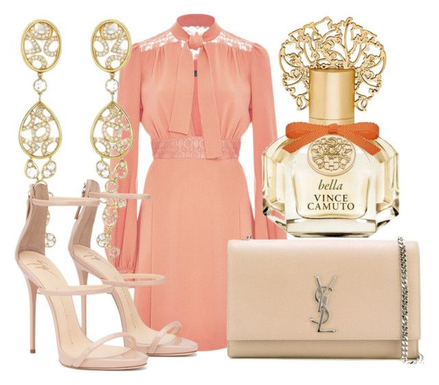 She was a lost girl by lucieednie on Polyvore featuring polyvore fashion style Elie Saab Yves Saint Laurent Vince Camuto clothing