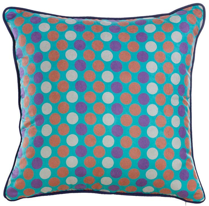 Apolena Mavi Puantiyeler Yastık :: GelKardesimGel.com