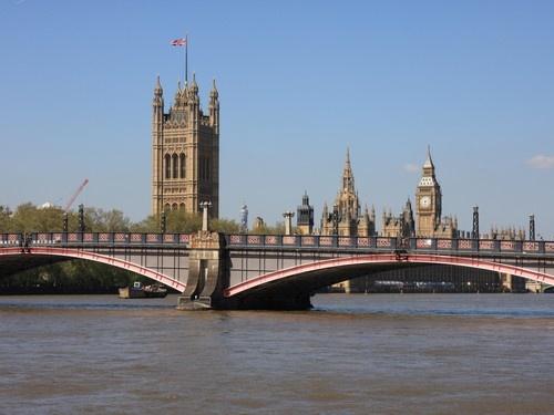 Lambeth bridge-London England