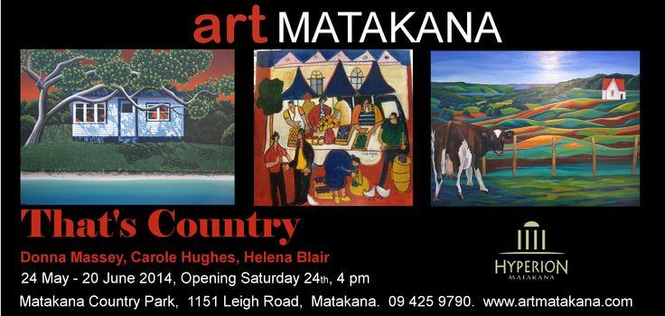 Art Matakana > Exhibitions > 'That's Country' May 14'
