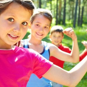 Strength games for kids