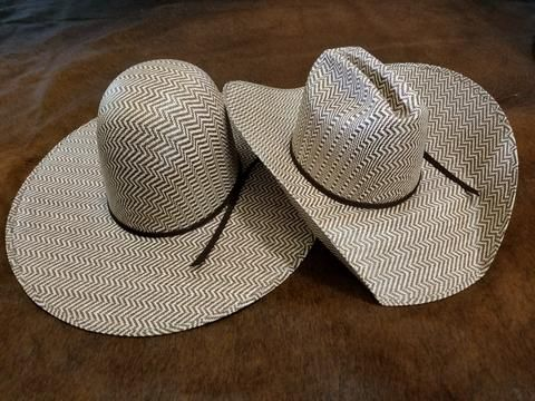 """RODEO KING """"HEREFORD"""" STRAW HAT"""