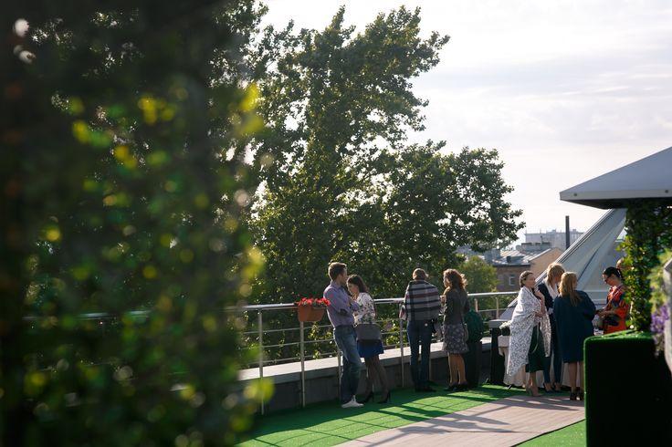 """Крыша """"Ванильное небо"""" для выездных свадебных регистраций"""