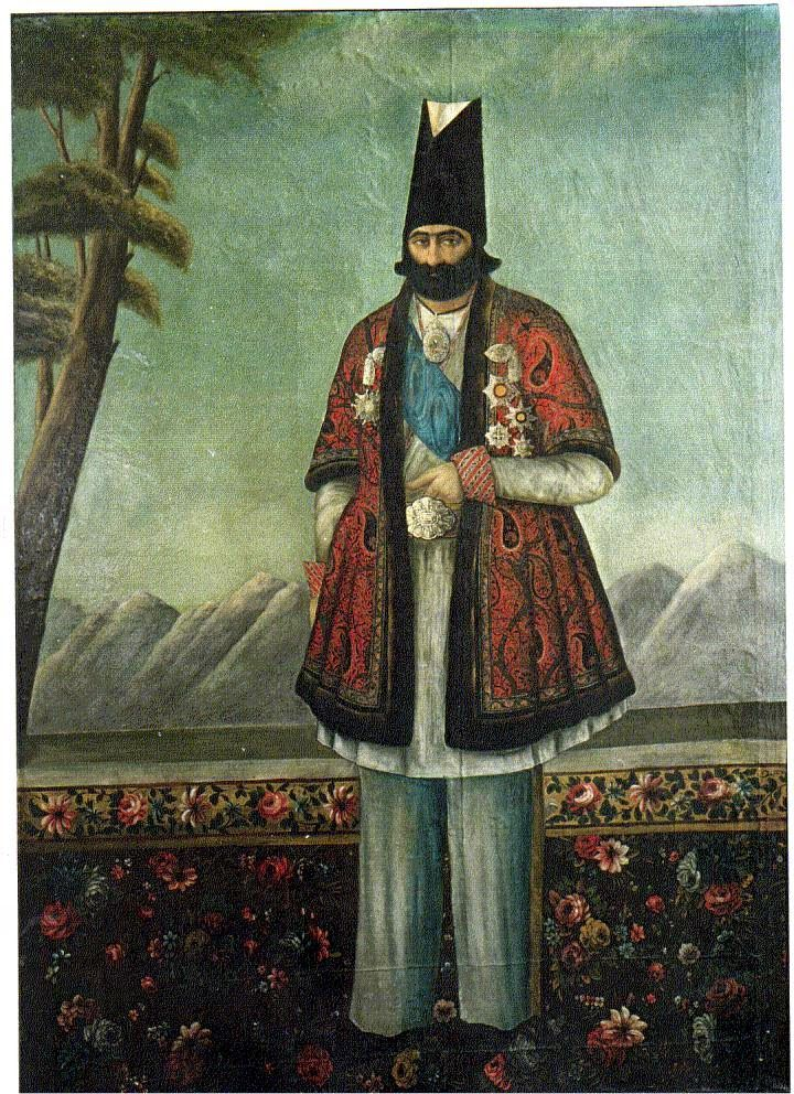 Safavid, Zand, and Qajar Paintings   The History of Graphic Design in Iran