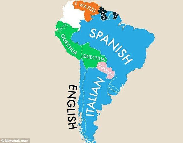 8 best Languages images on Pinterest Languages, Second language - best of world map with ecuador