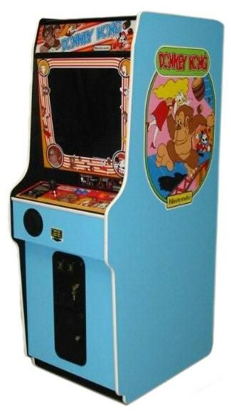 CONICO UPRIGHT VIDEO ARCADE GAME, COMMERCIAL NO MODEL # DONKEY KONG