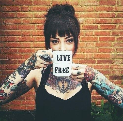 """ LIVE FREE "" -★-"